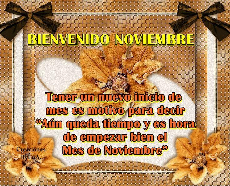 Imagenes para facebook bienvenido noviembre