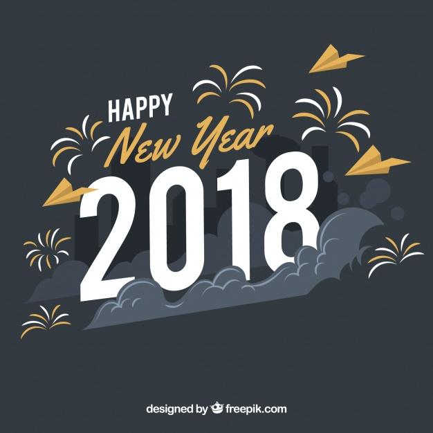 Imagen para perfil  de whatsapp feliz año nuevo 2018