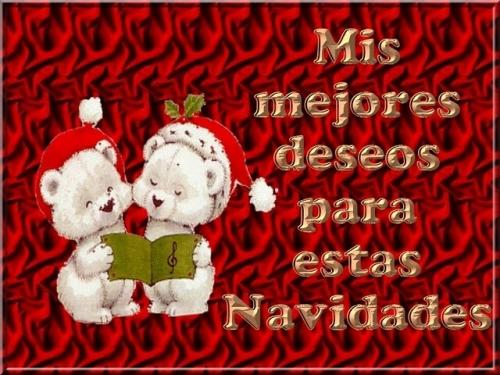 Mensaje con los mejores deseo para navidad en imagenes