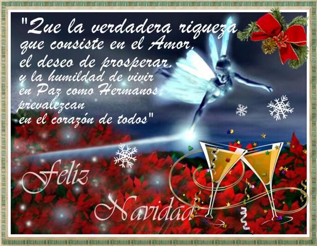 Mensaje de navidad en imagen para compartir