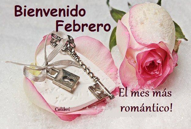 Bienvenido Febrero Imagenes Para enviar Por Celular