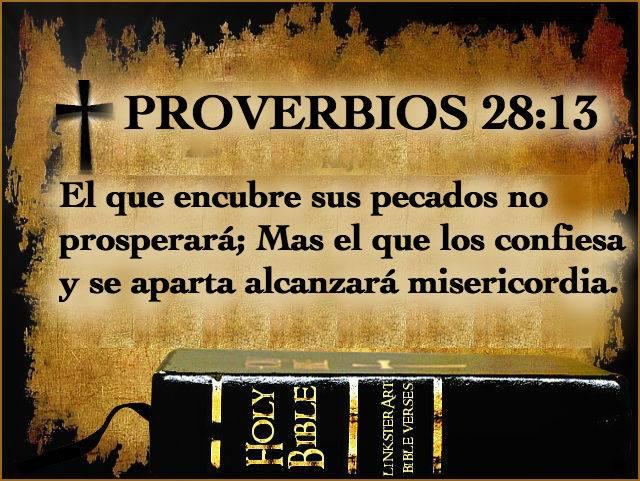 Frase Biblica sobre los Pecados