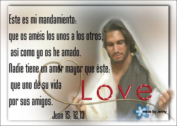 Mensajes sobre el Amor de Cristo para compartir en Semana Santa