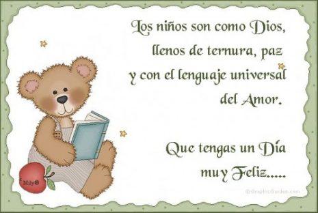 Mensajes en imagenes para dedicar el día del niño