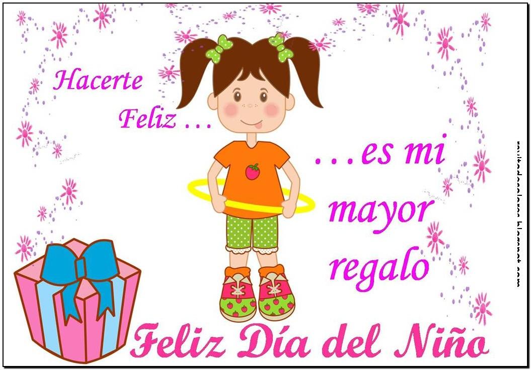 Tarjetas Feliz Día del Niño Para enviar Por Mensaje