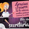 Tarjetas Para Regalar El Día De La Secretaria
