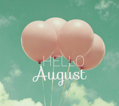 Hola agosto para poner en estado