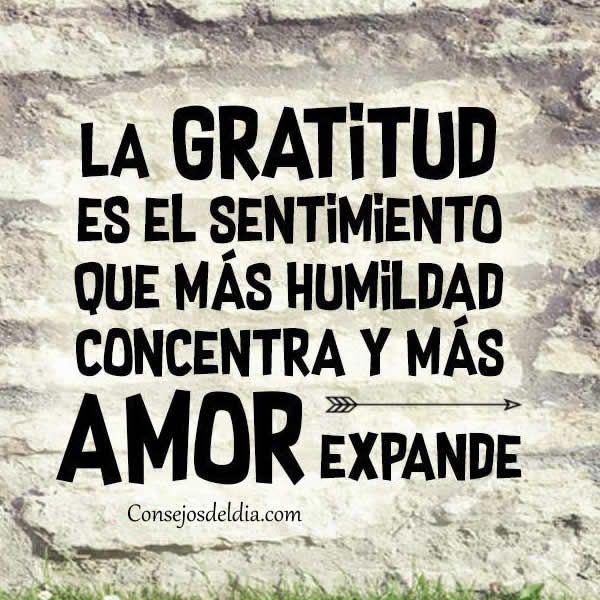 Imagenes con mensajes de gratitud para reflexionar