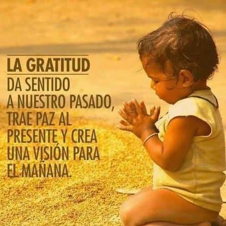 Imagenes con mensajes para reflexionar sobre la gratitud