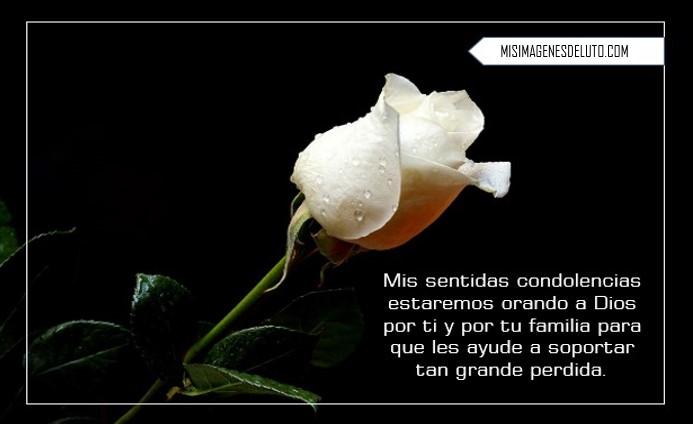 Imagenes de Condolencias para descargar