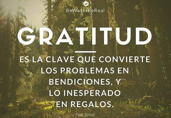 Mensaje corto sobre la gratitud para compartir en las redes sociales