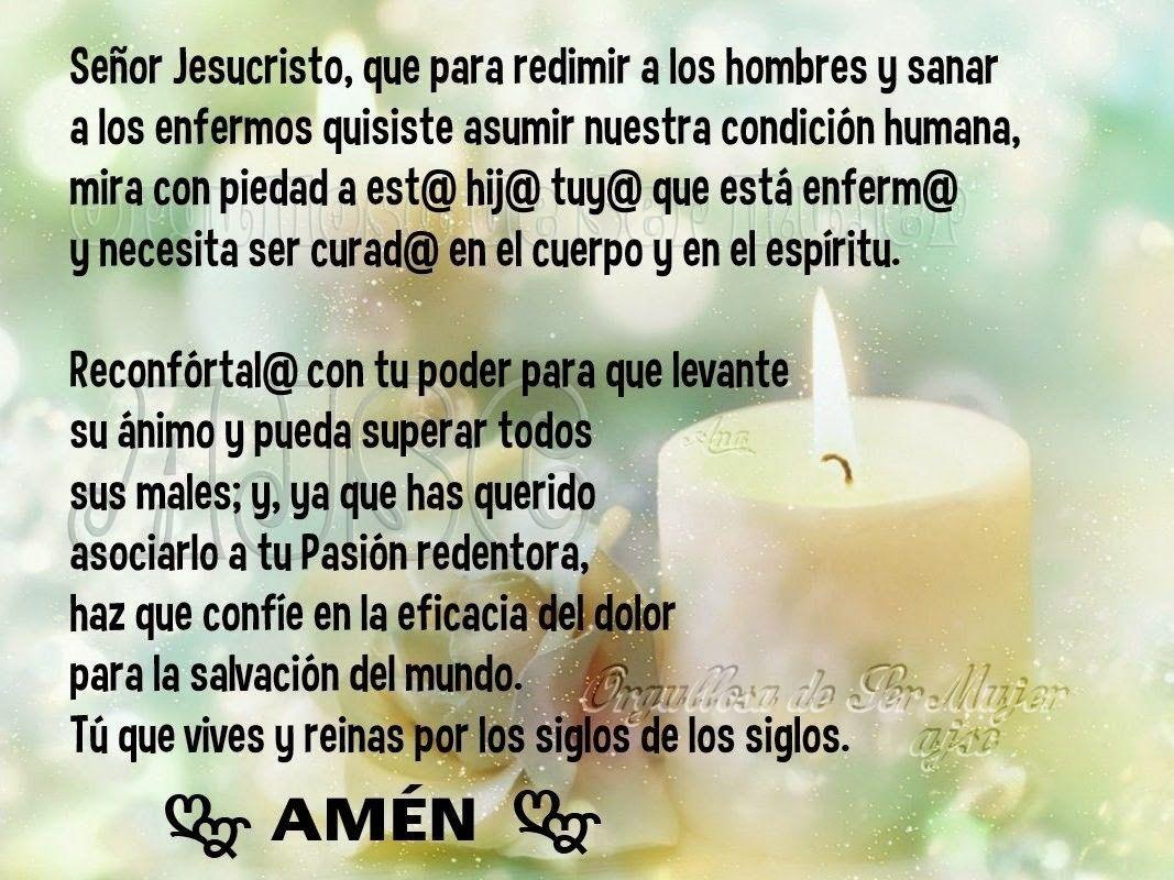 Imagenes Con Oraciones Por Los Enfermos Para WhatsApp