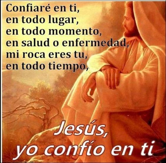 Jesus En Ti Confio Siempre Oracion Corta Para Compartir